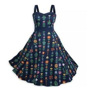 Dress Shop It's A Small World Blue Dress Disney L